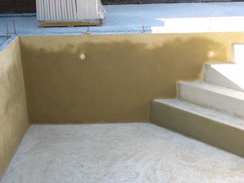 Construction d 39 une piscine en dur b ton au thor vaucluse for Construction piscine 37